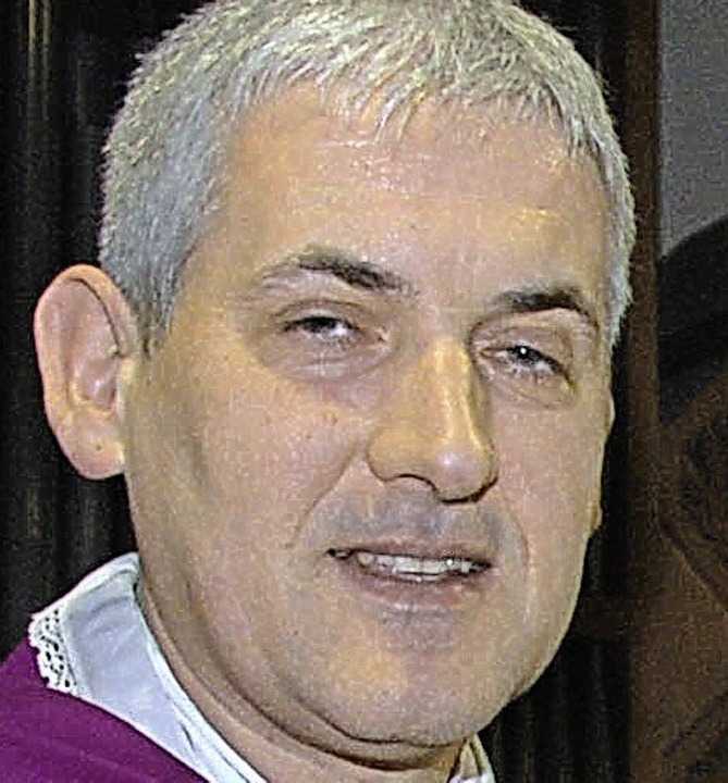 Verlässt die Stadt: Pfarrer Stephan Sailer.   | Foto: Lauber