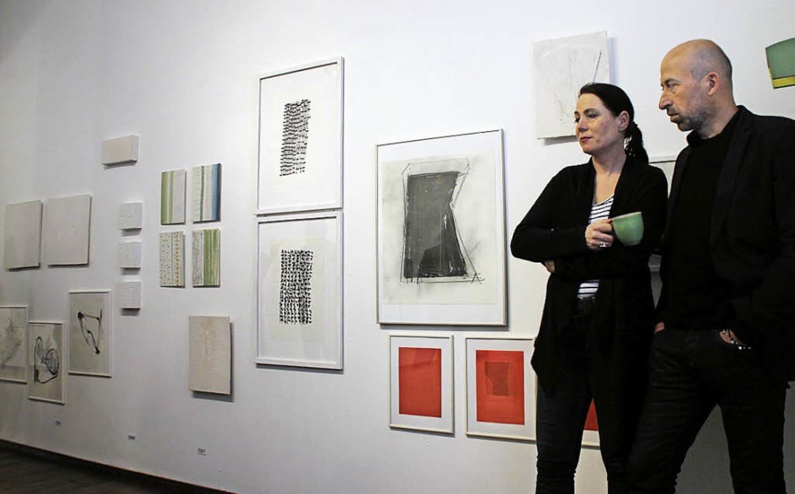 Ausstellungseröffnung in der Galerie Linda Treiber    Foto: erika sieberts