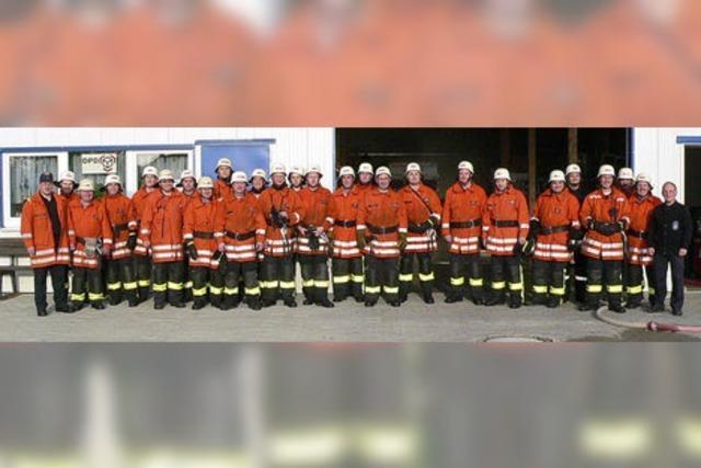 Feuerwehr Buchholz ist 75 Jahre alt