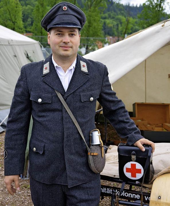 Erste Maulburger DRK Uniform    Foto: Sebastian Probst