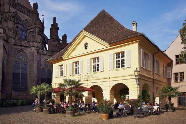 Neue Weine in der Alten Wache am Münsterplatz