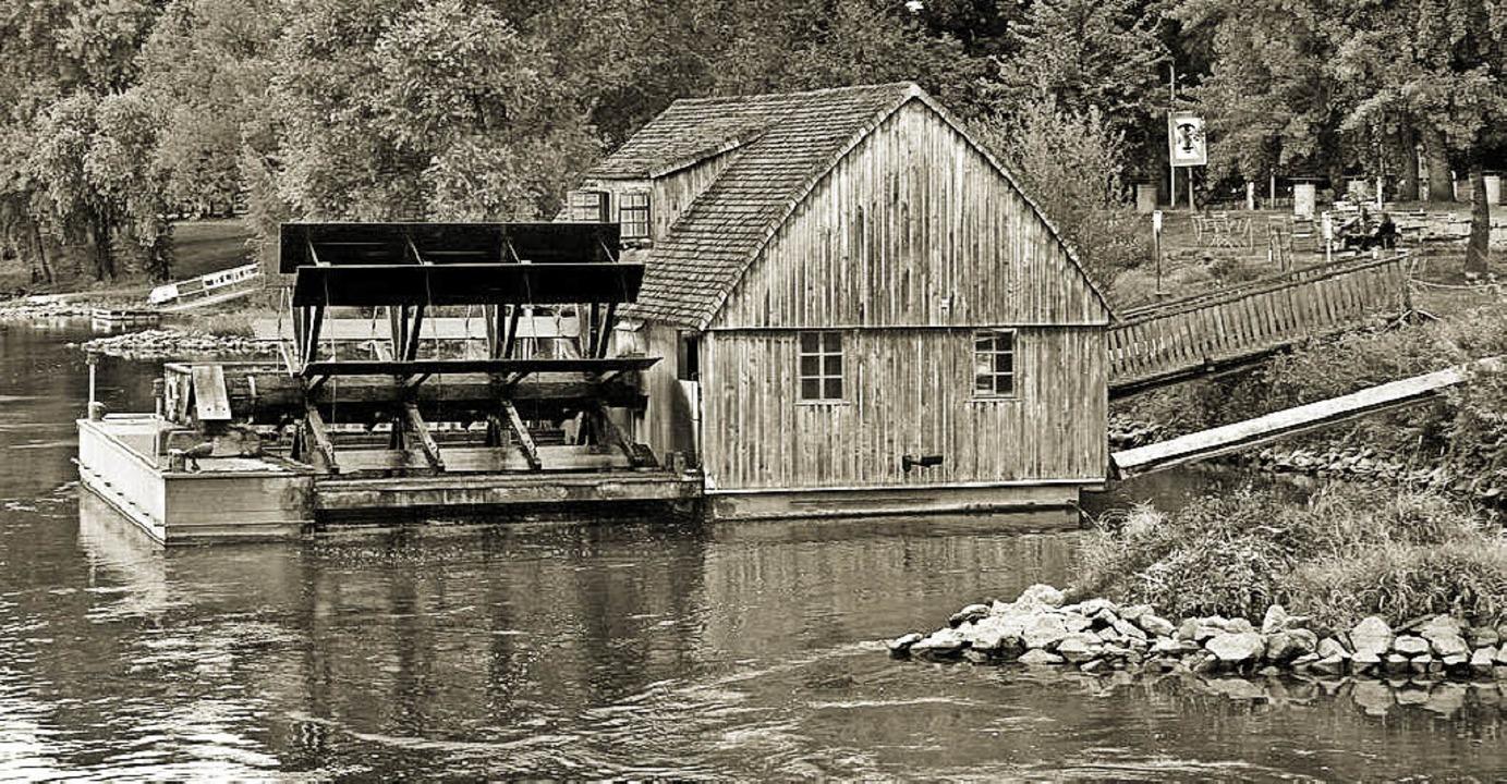 So ähnlich könnte auch die Schiffsmühl...ein Exemplar von Minden an der Weser.   | Foto: Günter Tuennes