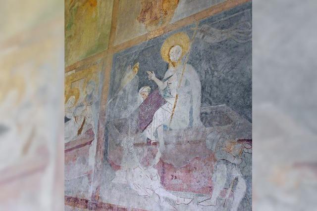 Mittelalterliche Kunst an Kirchenwänden