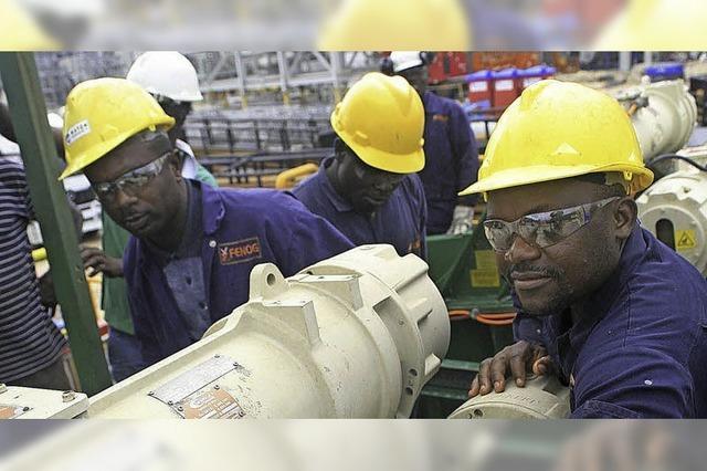 Wachstum in Afrika vermindert die Armut nicht