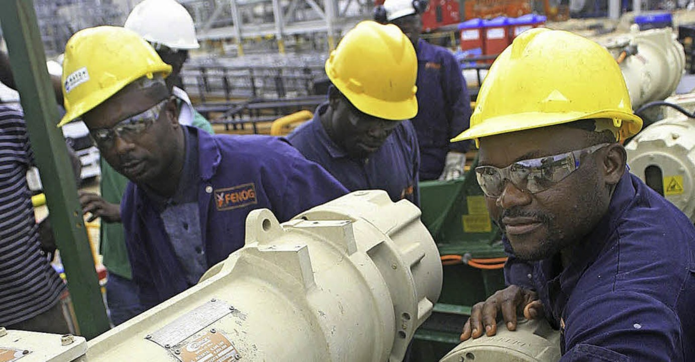 Die Ölindustrie gehört zu den Wachstumsbranchen in Afrika.    Foto: dpa