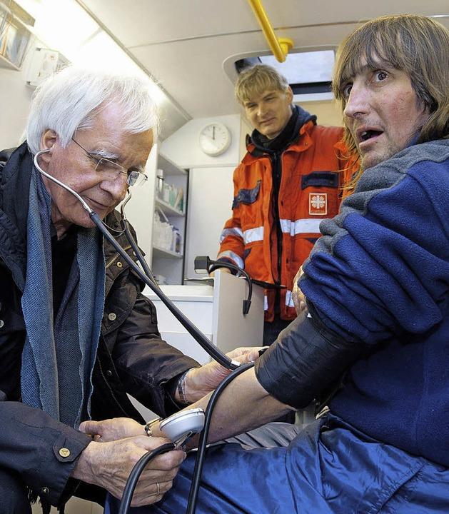 Armut macht krank    Foto: Deutsche Presse-Agentur