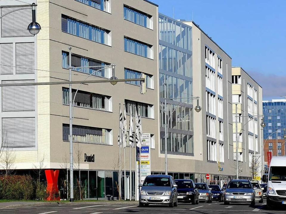 Freiburger Firmensitz von Family Media...-Press-Gebäude in der Schnewlinstraße.  | Foto: Ingo Schneider