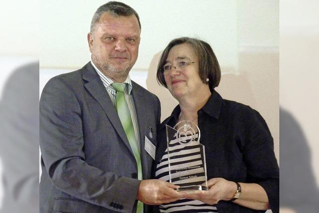Pflege Award 2013 für Carmen Schade