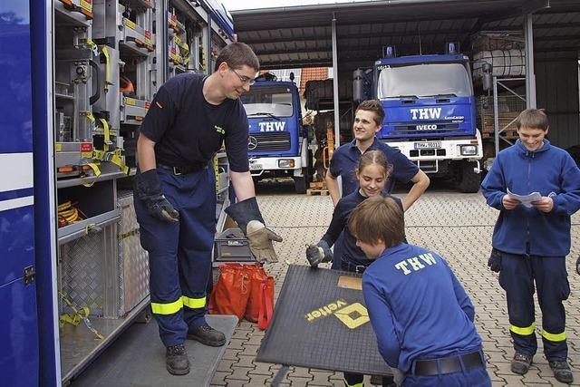 Das Technische Hilfswerk erweitert seinen Standort in Kenzingen