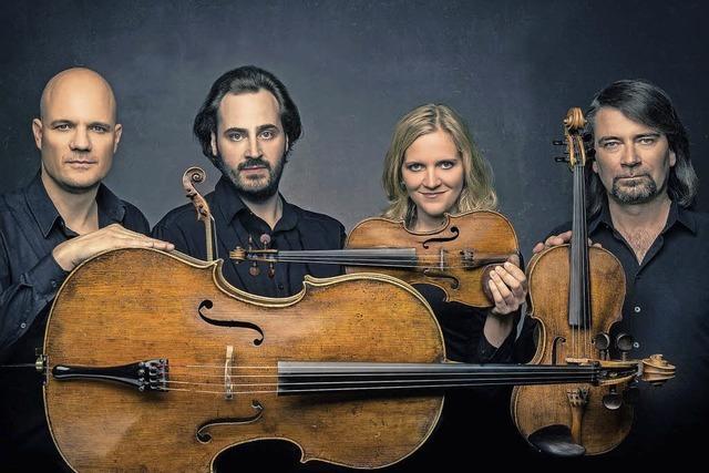 Artemis Quartett gastiert im Kulturzentrum Schloss Bonndorf