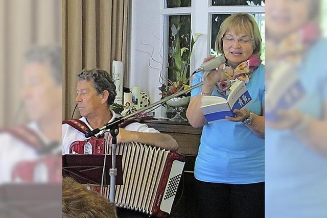 Singen im Seniorenheim