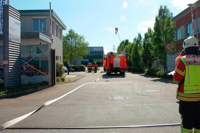 Wasabi-Gewürz löst Feuerwehreinsatz im Rheinhafen aus