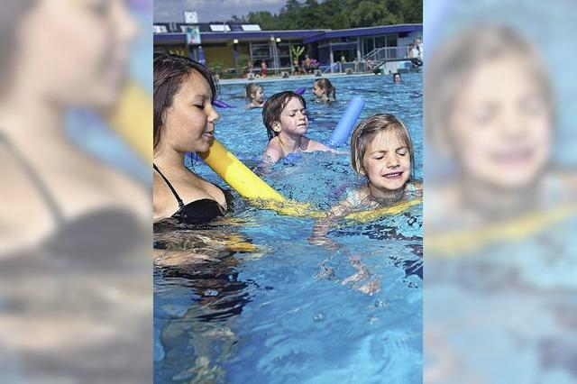 Schwimmkurse im Freibad