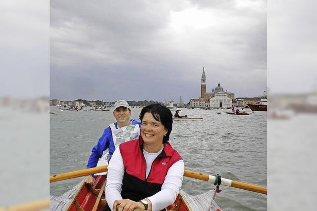 Mit dem Ruderboot in und um Venedig