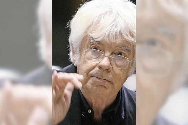 Dirigent Helmuth Rilling: Weltweit der Bach-Botschafter