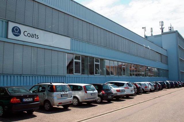 IG Metall fürchtet um Coats-Standort Kenzingen
