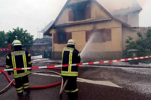 Brand in Willstätt: Lebensretter außer Lebensgefahr