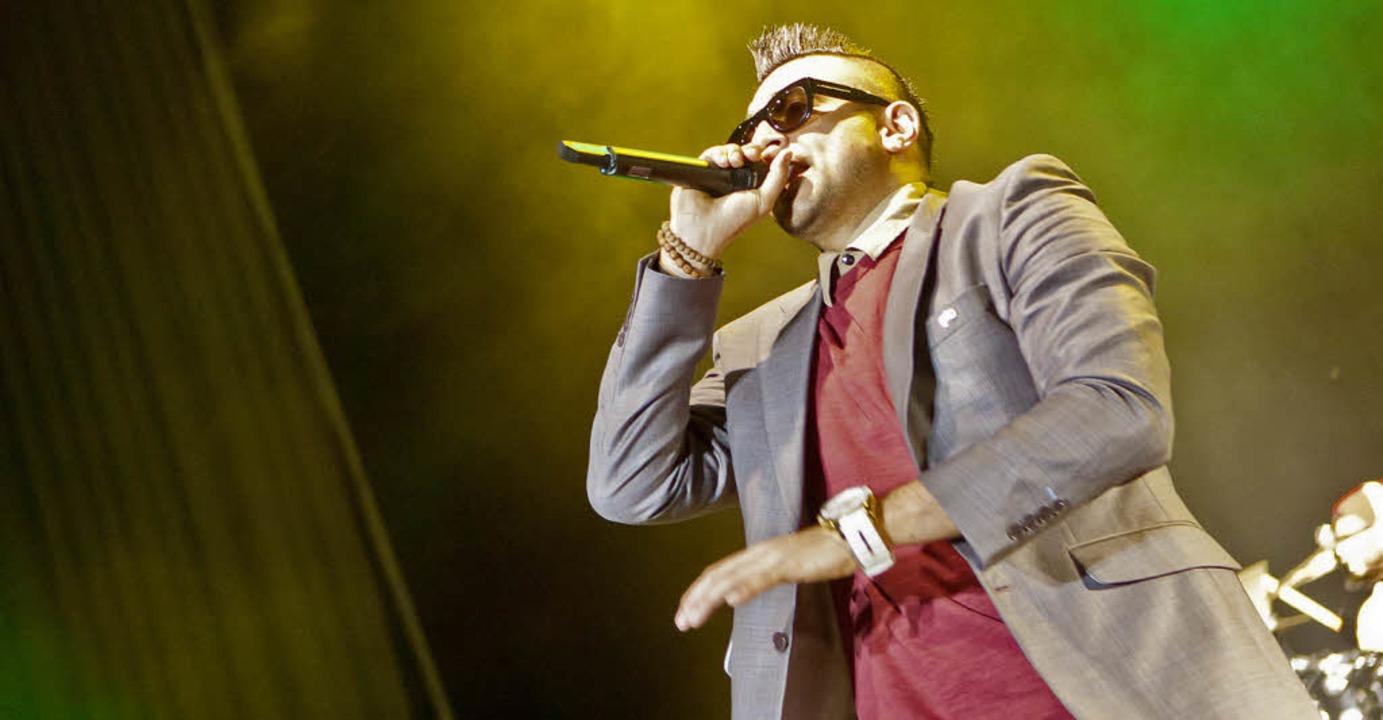 Dancehall-Star Sean Paul in Freiburg     Foto: janos ruf
