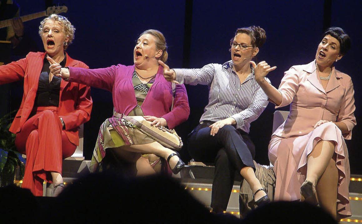 Vier Frauen starten durch.   | Foto: Roswitha Frey