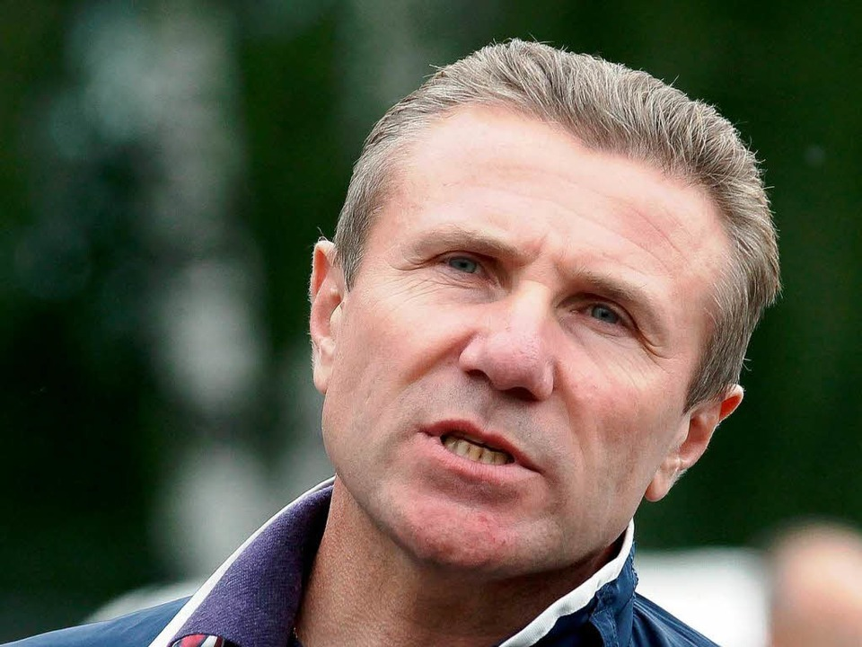 Will hoch hinaus und IOC-Chef werden: der frühere Stabhochspringer Sergej Bubka  | Foto: dpa