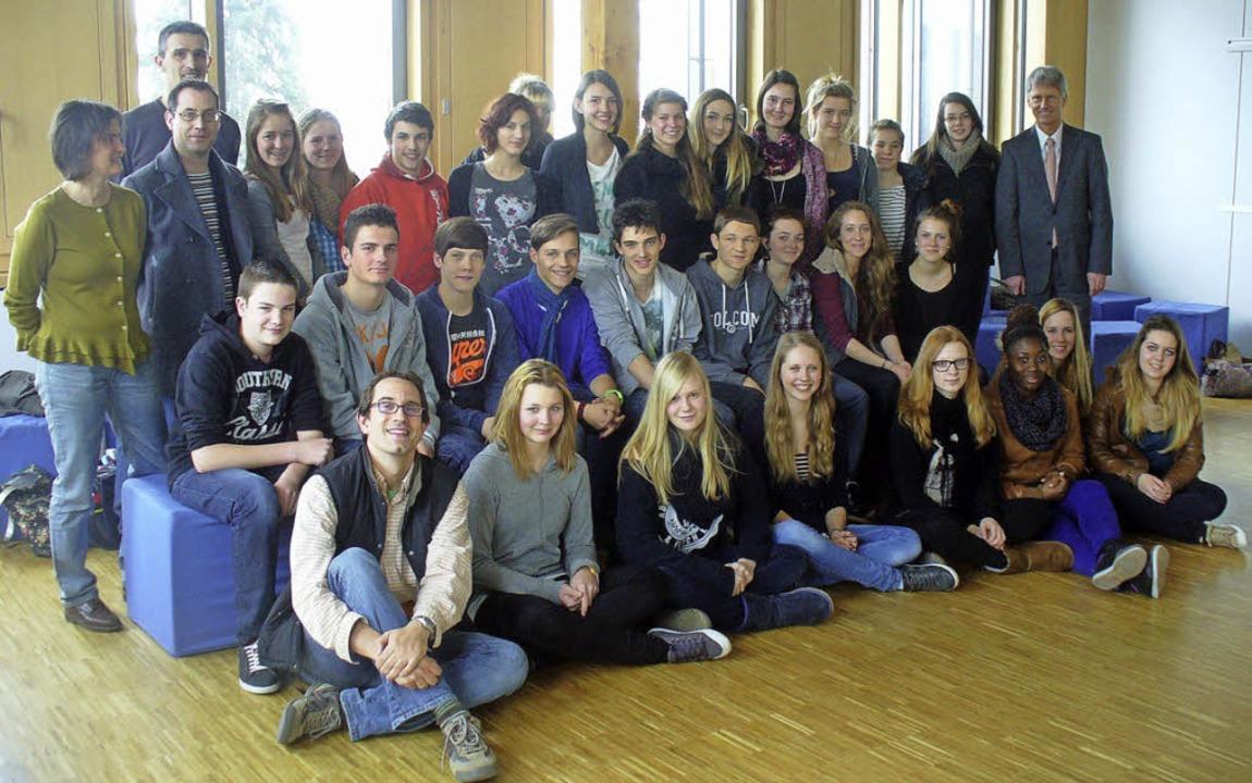 Gelungener Schüleraustausch mit Bonneville.  | Foto: Privat