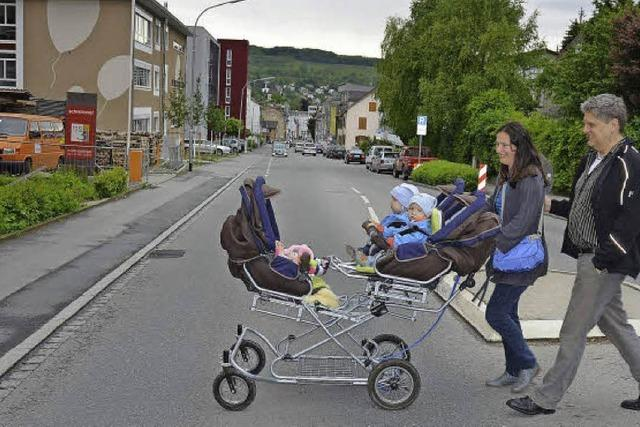 Leben an einer Hauptverkehrsstraße
