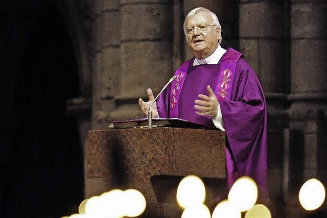 Dompfarrer Wolfgang Gaber feiert im Münster sein 40. Priesterjubiläum