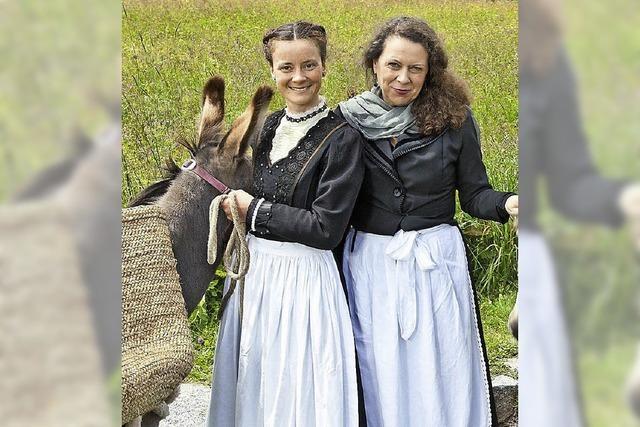 Mit Fanny am Feldberg