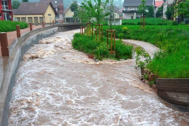 Hochwasserschutz besteht Bewährungsprobe