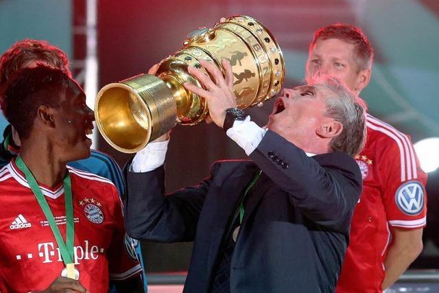 FC Bayern schafft Triple: Mit 3:2 gegen VfB Pokalsieger