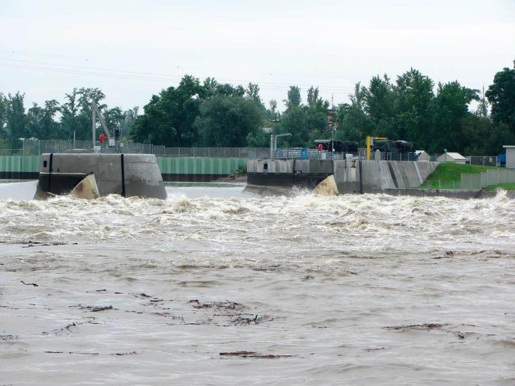 fotos hochwasser am rhein bei breisach und burkheim breisach fotogalerien badische zeitung