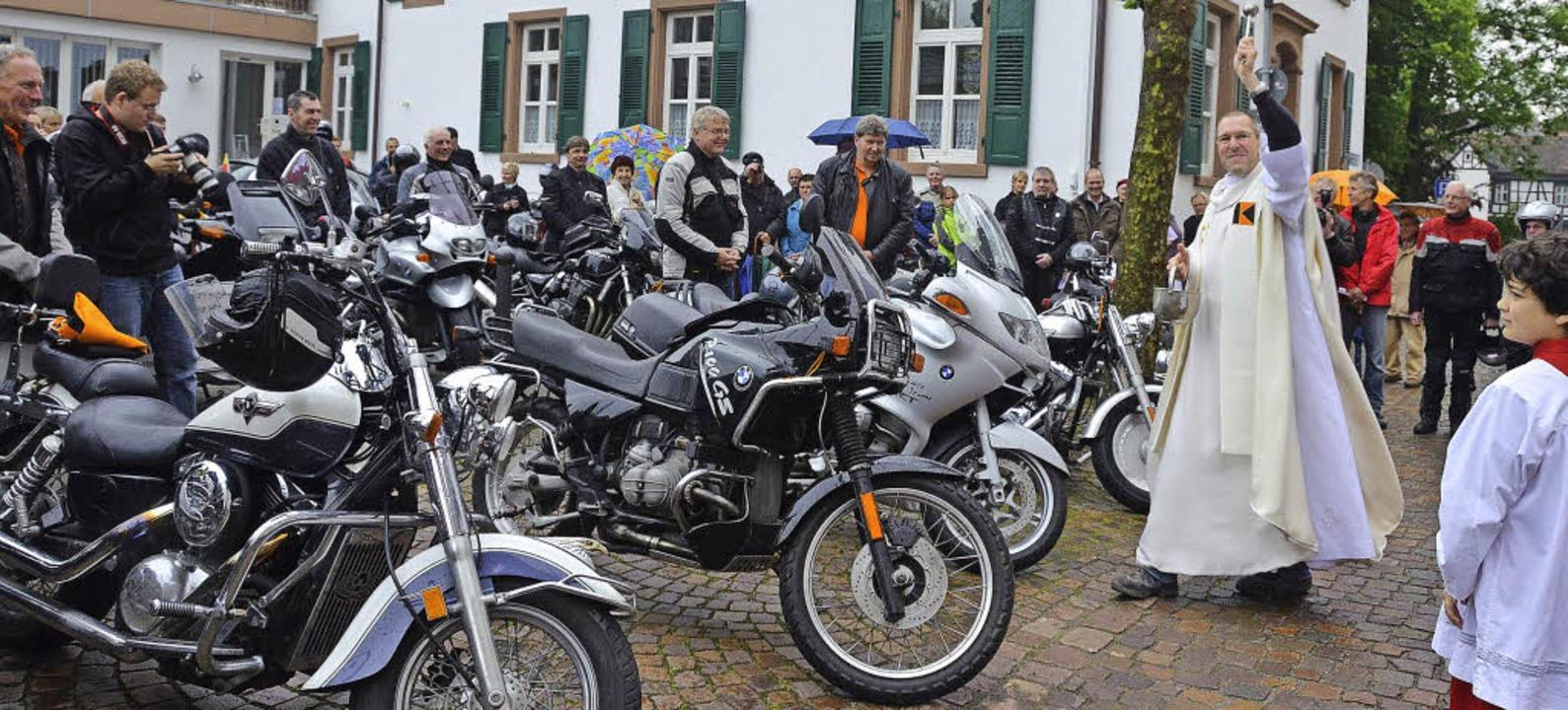 Bundesweites Kolping-Bikertreffen in Emmendingen:  | Foto: Sylvia-Karina Jahn