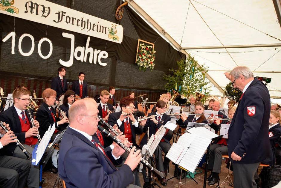 Seit 50 Jahren pflegt der Musikverein Dunningen eine enge Freundschaft zu den Musikerkollegen in Forchheim. (Foto: Roland Vitt)