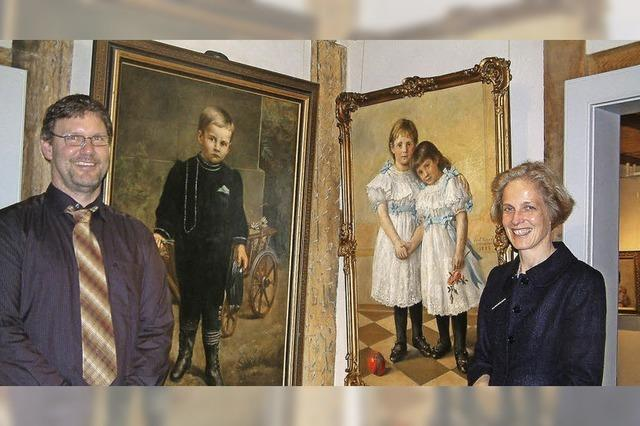 Porträtmalerei war seine Spezialität