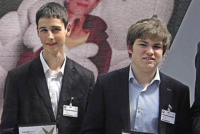 Zweiter Preis bei Jugend forscht