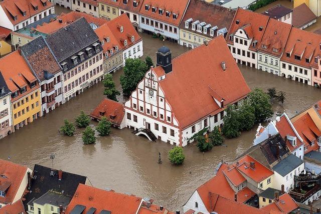 Höchster Wasserstand in Passau seit 500 Jahren