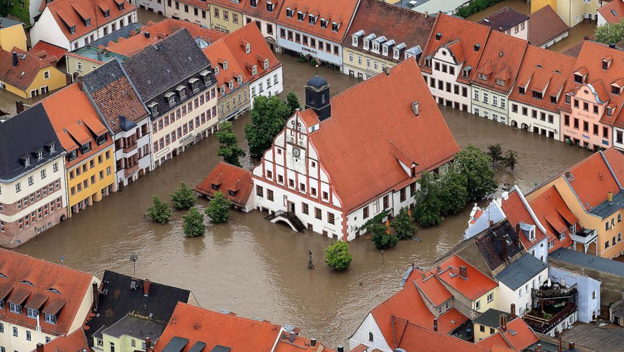 Hochwasser Grimma 2002