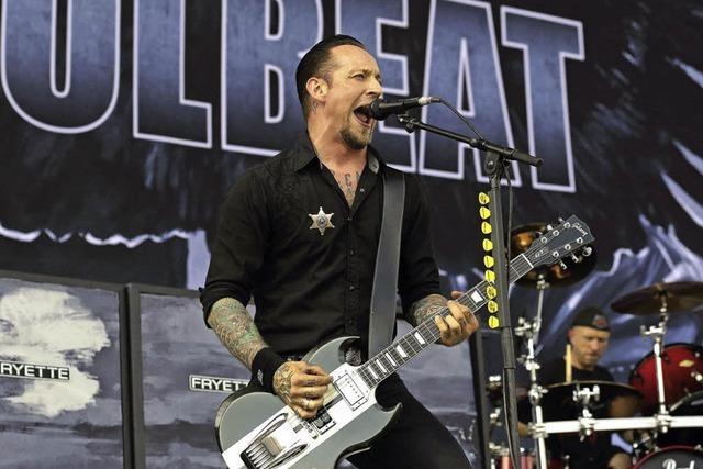 Volbeat in Straßburg: Größere Halle