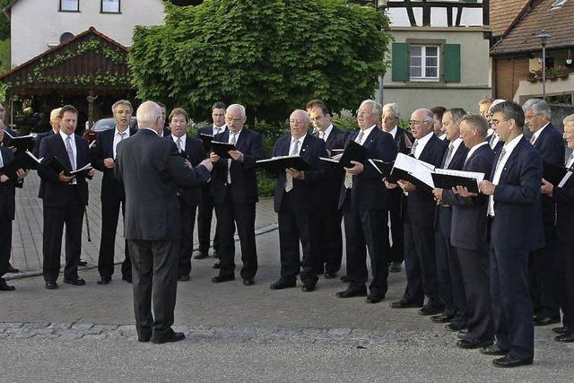 MGV Lichteneck Hecklingen: 125 Jahre Freude am Singen im Chor