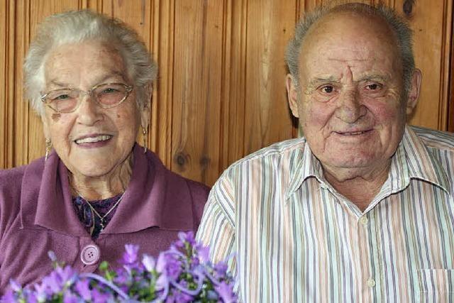 60 Jahre lang gemeinsam durch dick und dünn