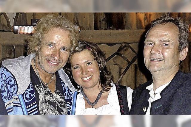 Zither-Partie im Wald für Bill Clinton und Thomas Gottschalk
