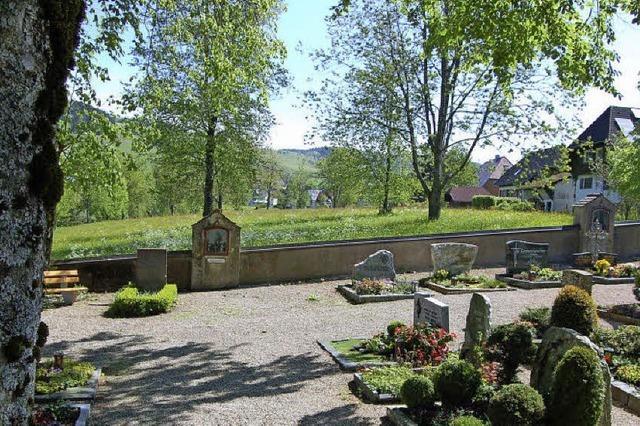 Friedhofserweiterung nach Osten