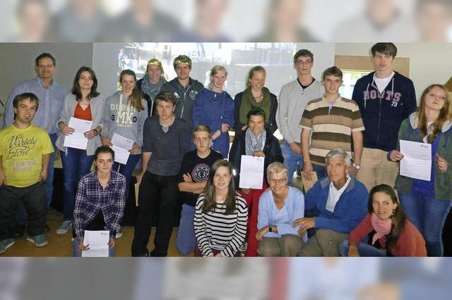 Schüler im Hilfseinsatz in Rumänien
