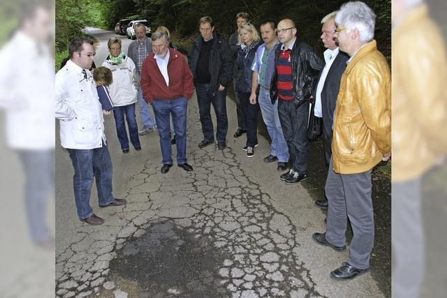 Heuer 100 000 Euro mehr für die Straßensanierung