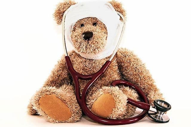 Krankenhaus für Kuscheltiere