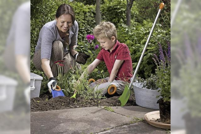 Gärtnern, ein Kinderspiel