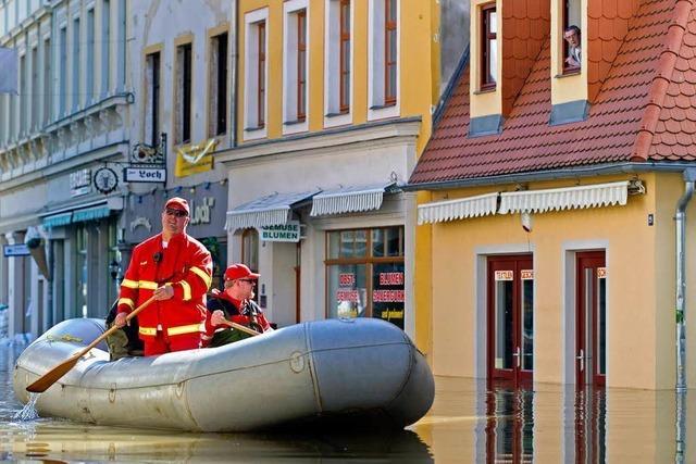 Hochwasser: In Halle an der Saale spitzt sich die Lage gefährlich zu