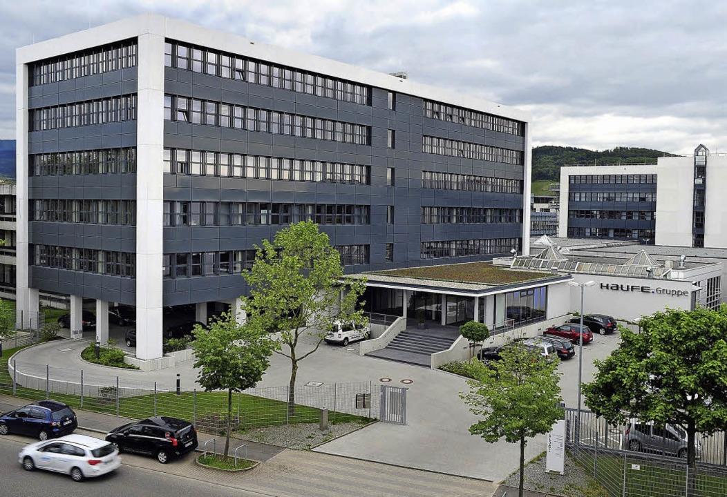 Die neue Zentrale auf der Haid  | Foto: thomas kunz
