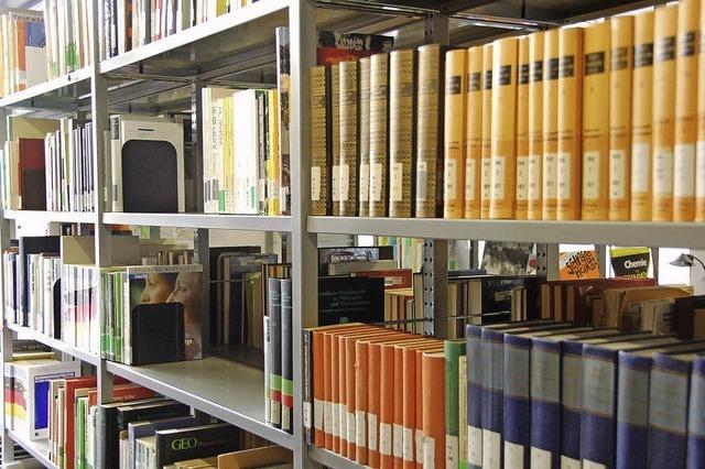 Die Bücher bleiben zugänglich