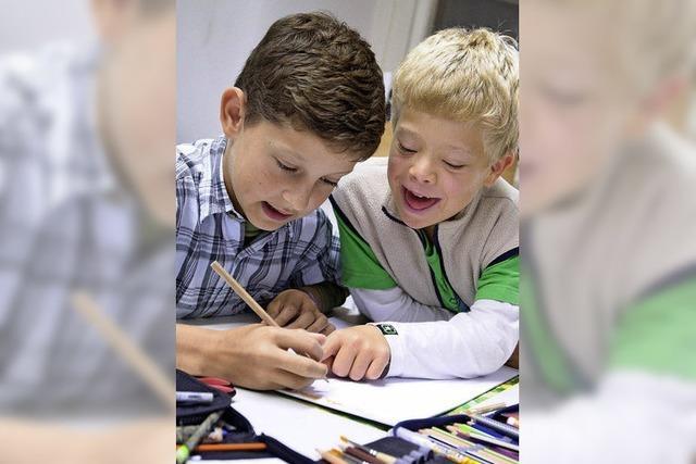 220 behinderte Kinder besuchen eine Regelschule